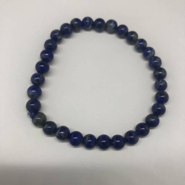 Bracelet Lapis Lazuli Elastique