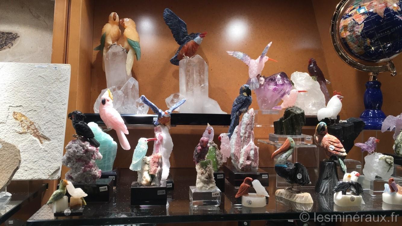 Les Minéraux du Carrousel du Louvre - Les Sculptures