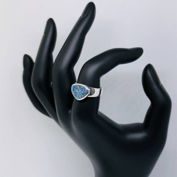 Bague opale Australie
